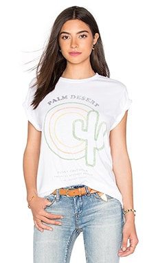 The Laundry Room x REVOLVE Palm Desert Rolling Tee in White