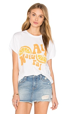 All Natural Rolling Tee in White
