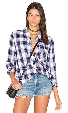 The Laundry Room Dusk Top in Water Plaid
