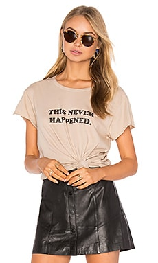 THIS NEVER HAPPENED Tシャツ