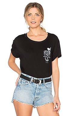 Freakin' Weekend Rolling Tee in Black