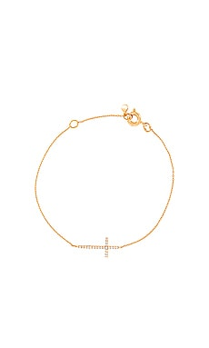Simple Medium Cross Chain Bracelet TAI Jewelry $36