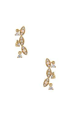 Ear Climber with CZ Dangles TAI Jewelry $39