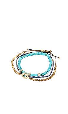 Handmade Beaded Bracelet Set of 3 TAI Jewelry $49