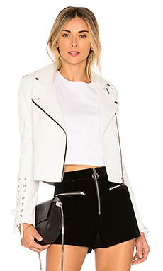 Florence the Biker Crop Jacket