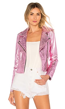 Lecce the Biker Crop Jacket The Mighty Company $537