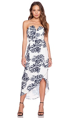 tiger Mist Balmy Night Dress in Black & White