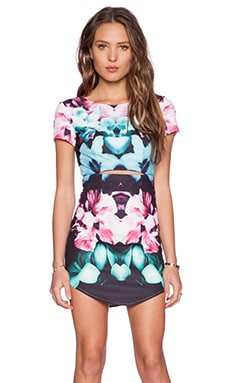 tiger Mist Magical Mini Dress in Multi