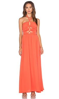 Tie Up Maxi Dress