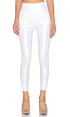 tiger Mist Back It Up Metallic Pant in White