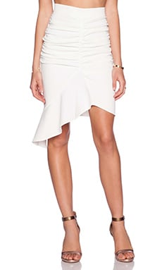 tiger Mist The Lover Skirt in White