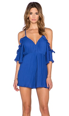 tiger Mist Cha Cha Playsuit in Royal Blue
