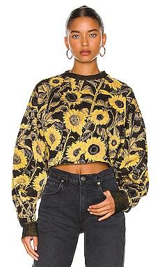 Sunflower Hyper Reality Knit Top TWENTY Montreal $145 BEST SELLER