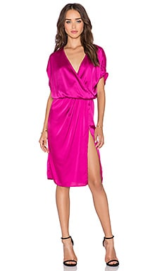Toby Heart Ginger x Love Indie Scarlet Split Dress in Pink