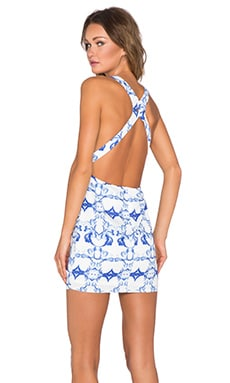 Toby Heart Ginger Enchanted Mini Dress in Bora Bora Print