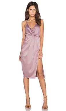 Toby Heart Ginger x Love Indie Sleeveless Scarlet Slip Dress in Mauve