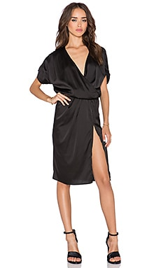 Toby Heart Ginger x REVOLVE Scarlet Split Dress in Black