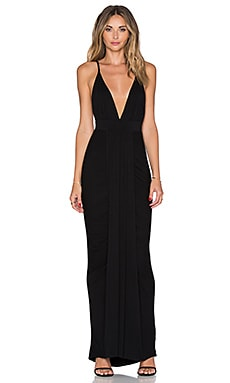Toby Heart Ginger x Love Indie Walk This Way Maxi Dress in Black