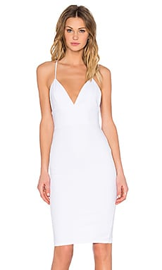 Toby Heart Ginger Sophia Midi Dress in White