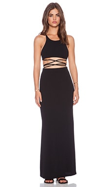 Toby Heart Ginger Newport Maxi Dress in Black