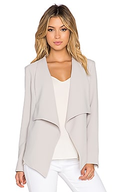 Toby Heart Ginger x Love Indie Camilla Drape Blazer in Grey