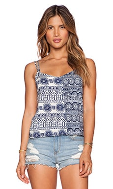 Toby Heart Ginger Mix & Match Tank in Multi