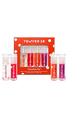 CONJUNTO PARA LABIOS JUICY ALL THE WAY Tower 28 $20
