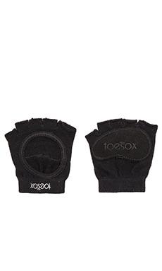 toesox Releve Half Toe Sock in Black