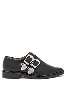 Double Buckle Oxford