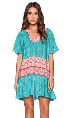 Tolani Elise Dress in Turquoise