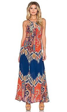 Stefani Maxi Dress in Paisley