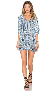 x REVOLVE Sahas Dress en Reese Blue