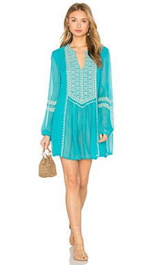 Tolani Lauren Dress in Turquoise