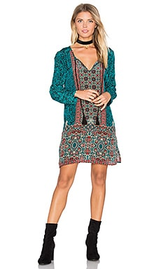 Cecilia Dress en Turquoise
