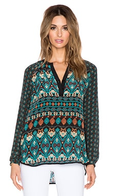 Tolani Jill Blouse in Teal
