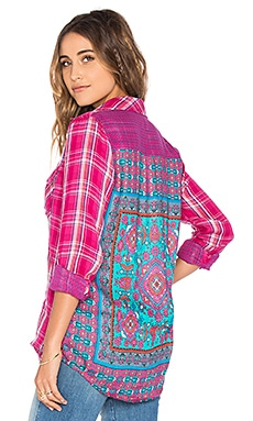 Tolani Emma Top in Magenta