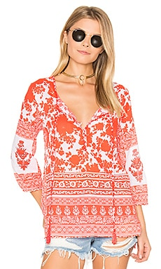Sienna Top en Poppy