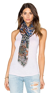 Tolani Sedona Scarf in Denim