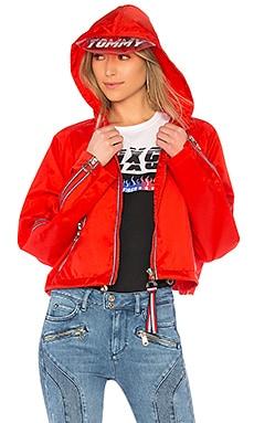TOMMY X GIGI Gigi Hadid Visor K-Way Jacket Tommy Hilfiger $299