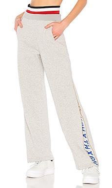 Купить Брюки zip track - Tommy Hilfiger серого цвета
