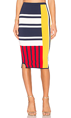TOMMY X GIGI Patchwork Skirt