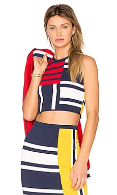 TOMMY X GIGI Patchwork Top