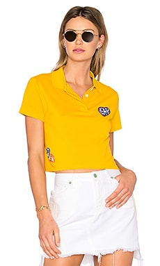 TOMMY X GIGI Polo en Vieil Or