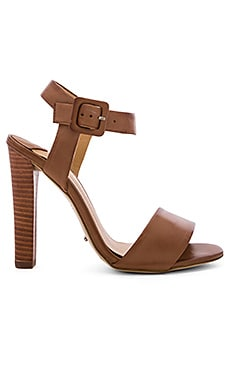 Kapri Heel in Tan Monaco