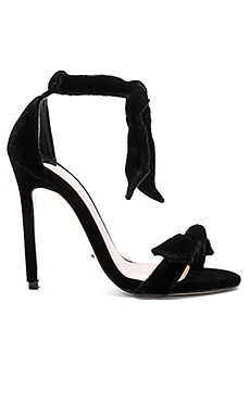 Kiely Heel in Black Velvet