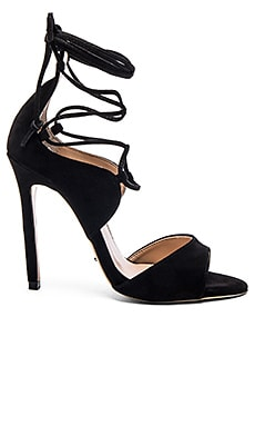 Tony Bianco Karim Heel in Black Kid Suede