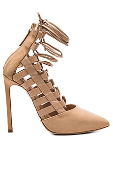Tony Bianco Fancie Heel in Sandstone Kid Suede
