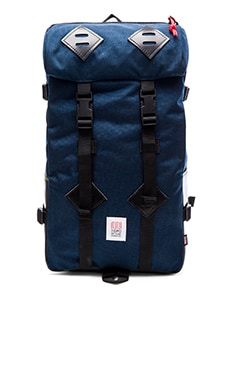 TOPO DESIGNS Klettersack in Navy & Black