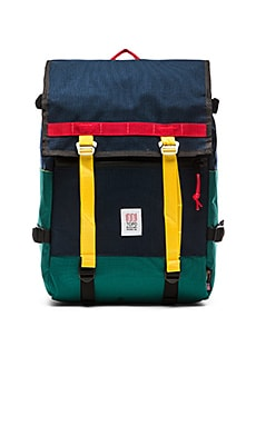 TOPO DESIGNS Flap Pack in Navy