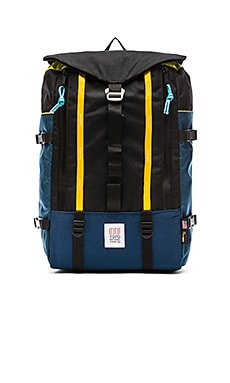 TOPO DESIGNS Mountain Pack in Navy & Black